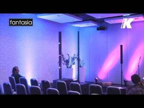Sistema de arreglo lineal activo ultra compacto y portátil K-Array KR102 Mark 1 en audio cine digital iluminación instrumentos y video en México