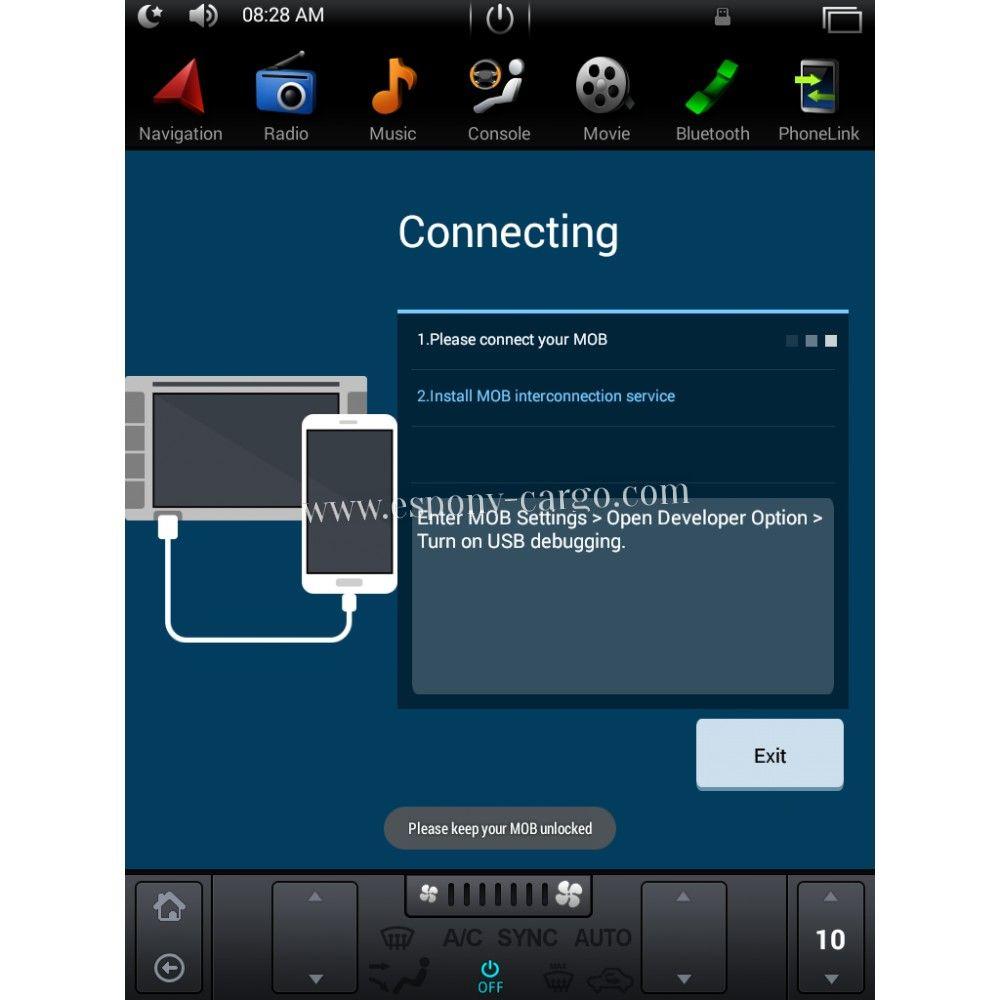 The best intelligent gps navigation tesla style vertical screen http www