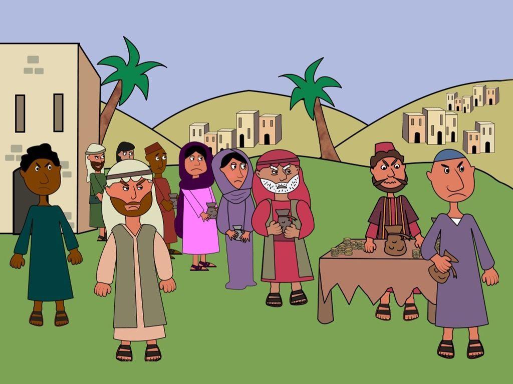 Preschool version of the story of Zacchaeus. (Luke 19:1-10) – Slide ...