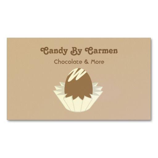 Candy business card chocolate chocolate business cards candy business card chocolate colourmoves