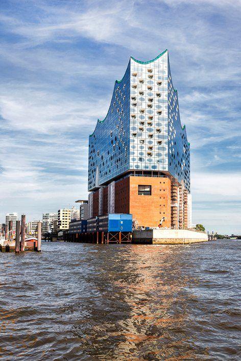Elbphilharmonie Hamburg 2015 Herzog De Meuron Architecture Details Urban Architecture Architecture Landmark