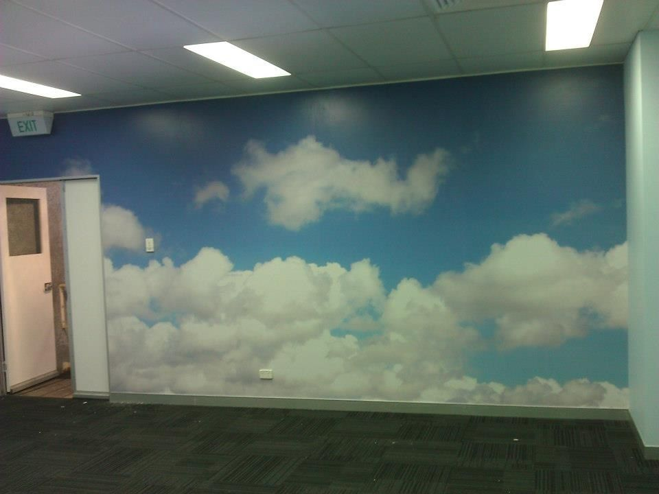 Wallpaper Mural Sky And Clouds Mural Wallpaper Installers Brisbane Outside Inside Shop Wallpaper Modern Wallpaper Buy Wallpaper Online