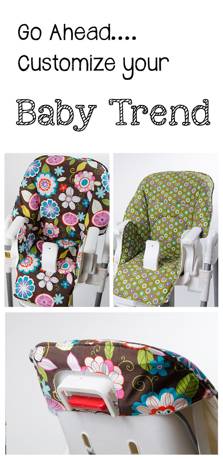 Space saver high chair boy - Handmade And Stylish Replacement High Chair Covers For Baby Trend Www Sewplicity Com