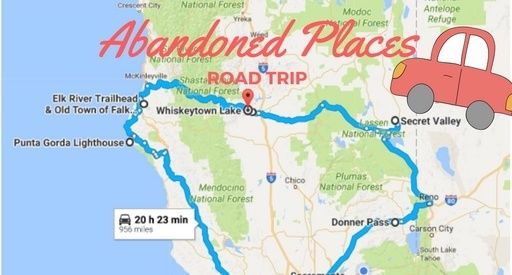 Ghost Towns In California Map.Explore Stretches Of Northern California S Treacherous Coast Old