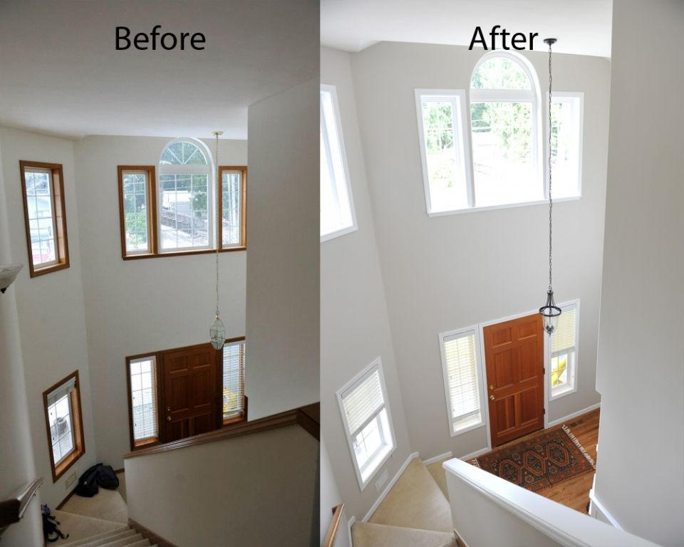 Image Result For White Doors Painted Frames Before And