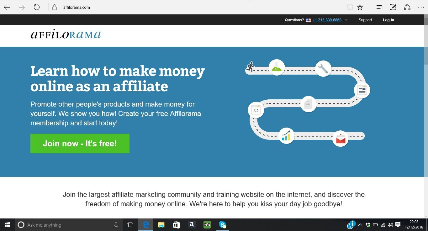 affilorama is one of leading programs where they teach you how to ...