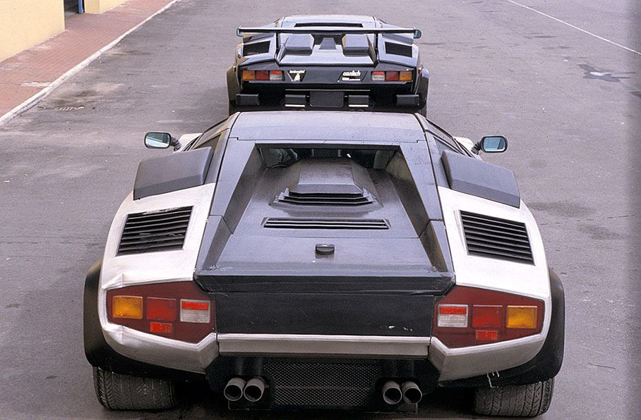 1987 Lamborghini Countach Evoluzione Developed By A Small