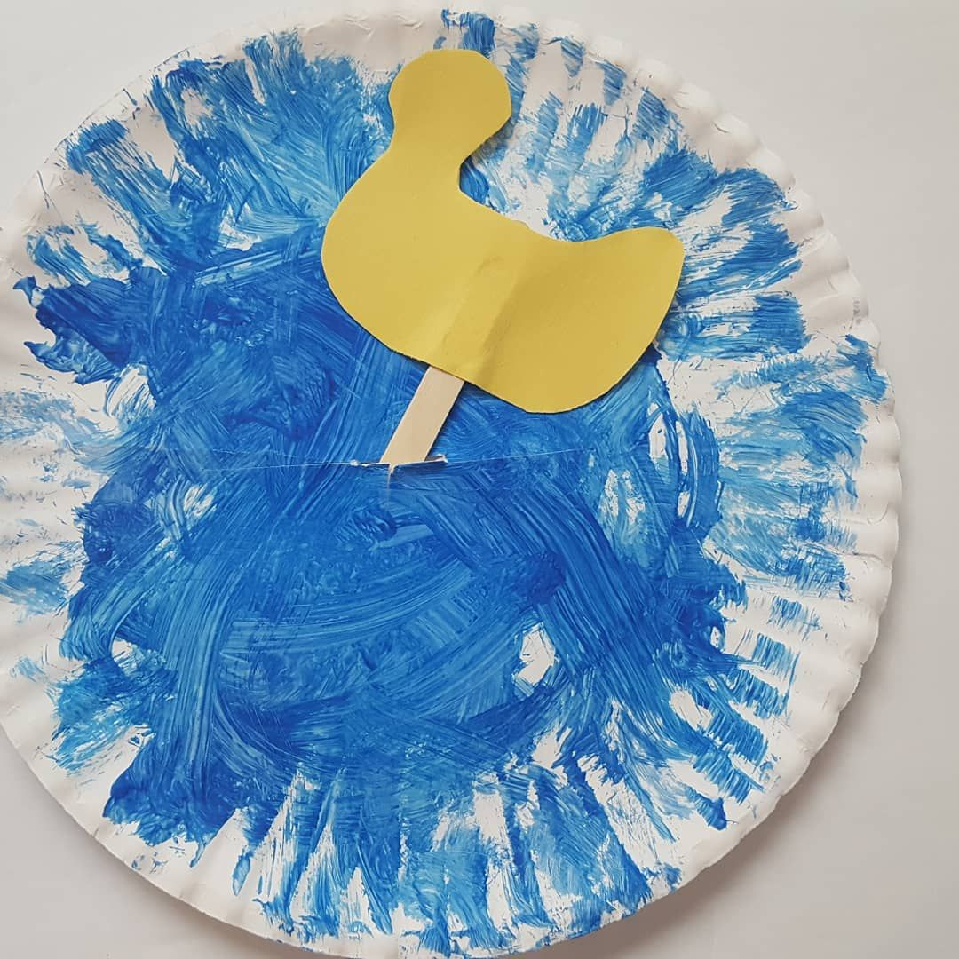 Duck Swimming In The Pond Fun Craft For Your Toddlers