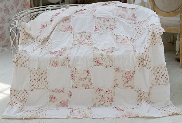 shabby rag quilt roses hand made shabby chic style patchwork quilt rh pinterest com simply shabby chic bohemian patchwork quilt shabby chic white patchwork quilt