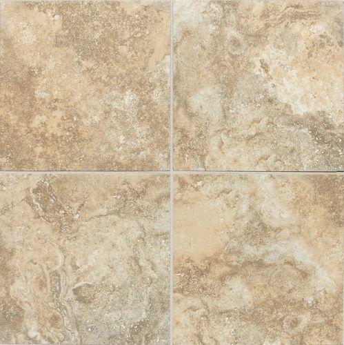 Daltile san michele dorato 12 x 12 used on bathroom floors for Daltile bathroom tile designs