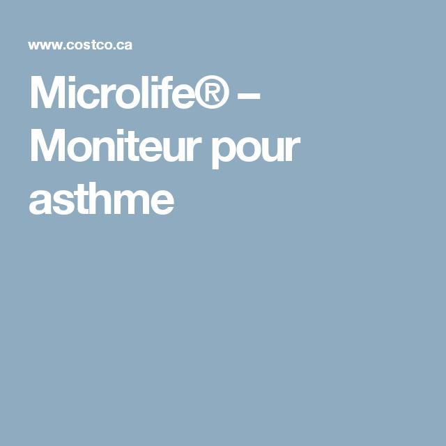 Microlife  Moniteur Pour Asthme  Sant    Peak