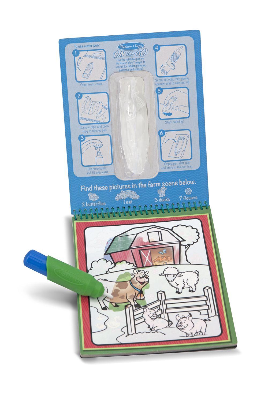 Kolorowanki Wodne Water Wow Zabawki Z Pasja In 2020 Alphabet Gifts Animal Coloring Books Melissa And Doug