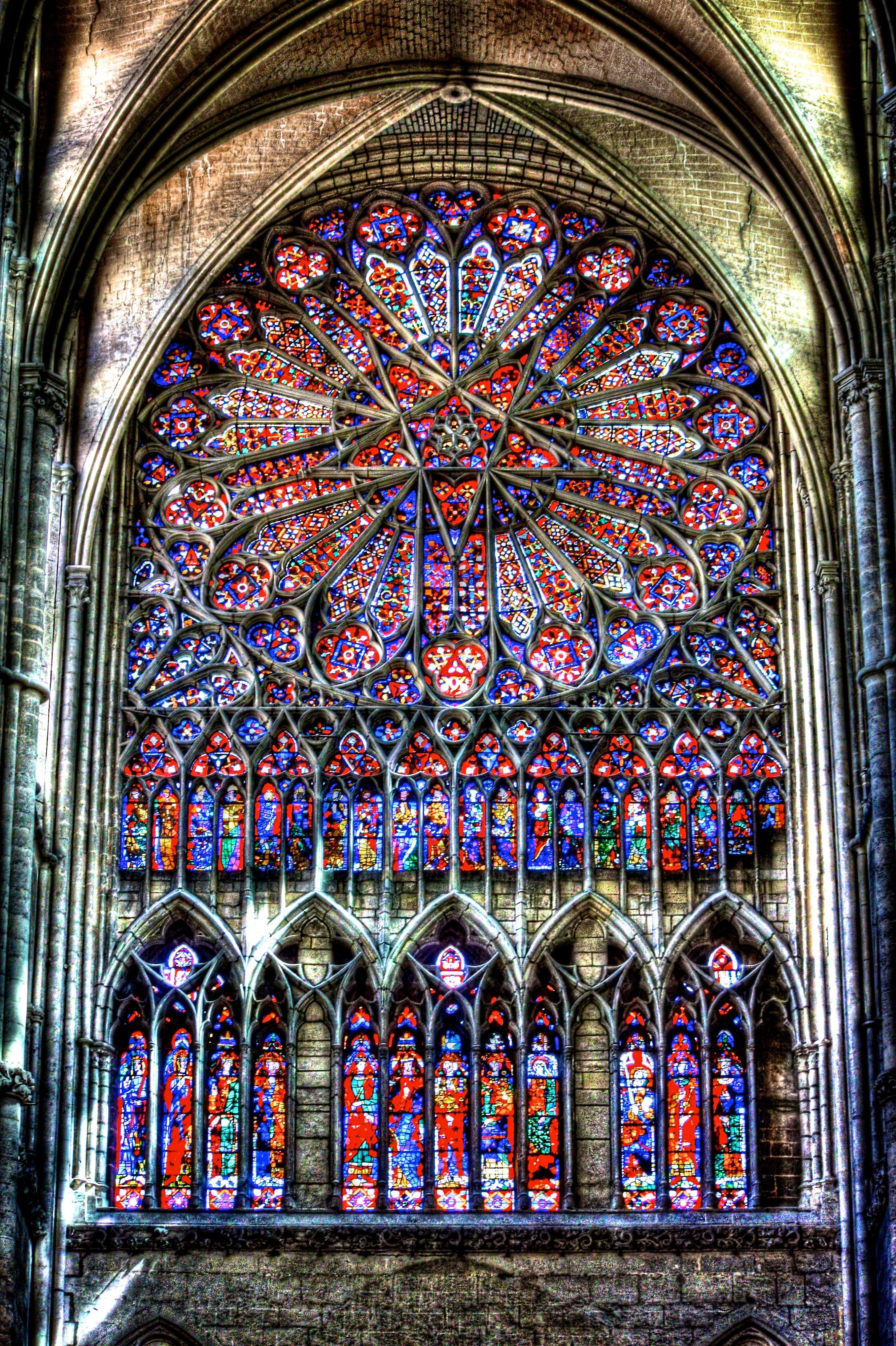 Vitrail cath drales vitraux et architecture gothique for Art gothique