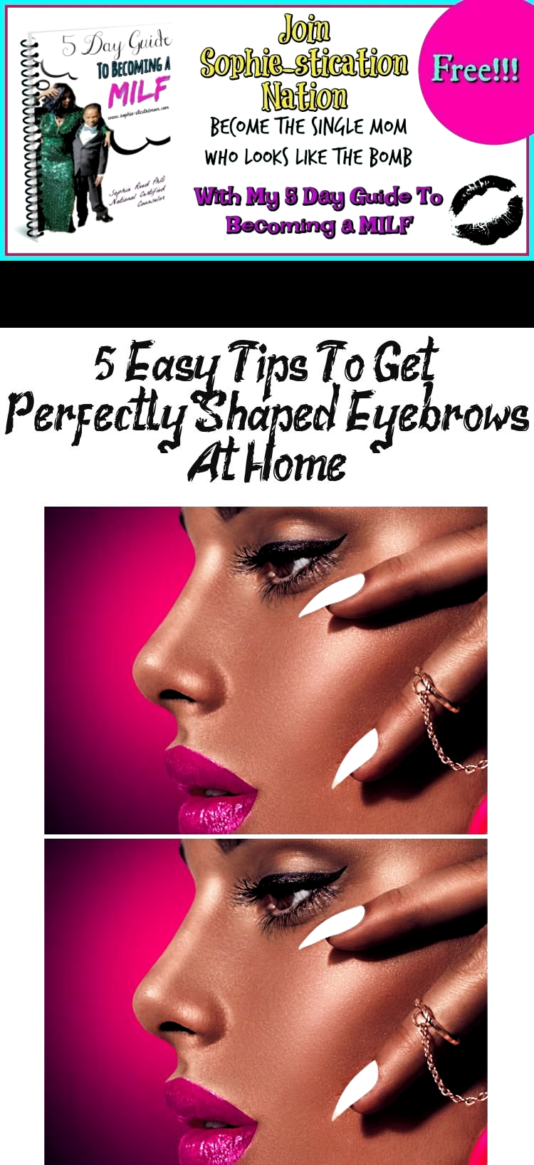 5 Easy Tips To Get Perfectly Shaped Eyebrows At Home Learn ...