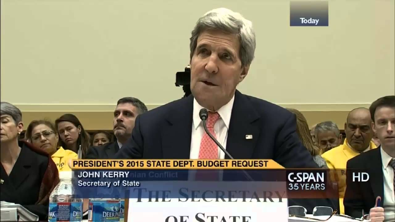 The Beast : Kerry says It's 'A Mistake' to push 'Jewish State' as Condit...