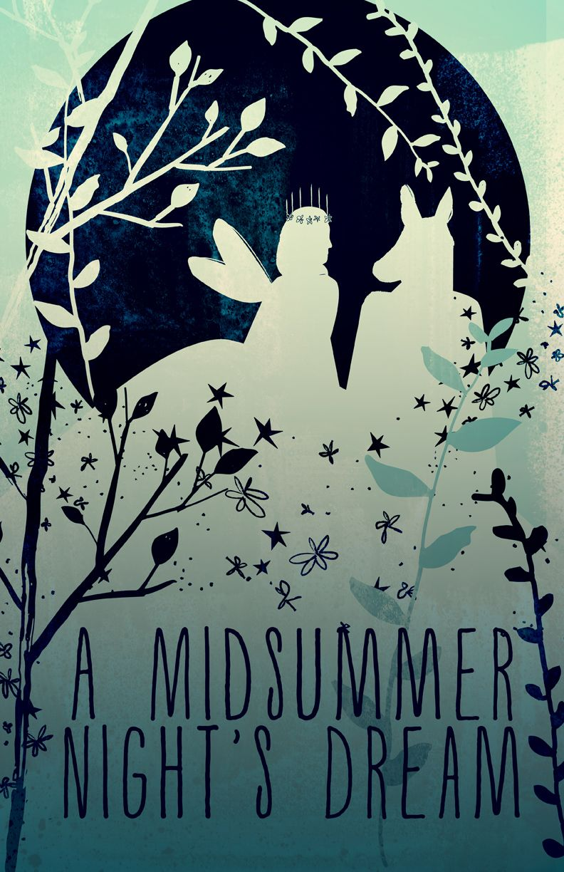 Image result for a midsummer night's dream cover
