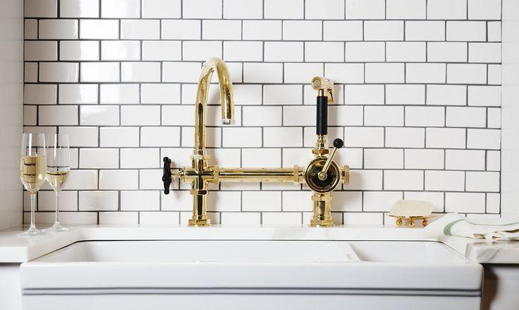 Waterworks brass faucet Google Search