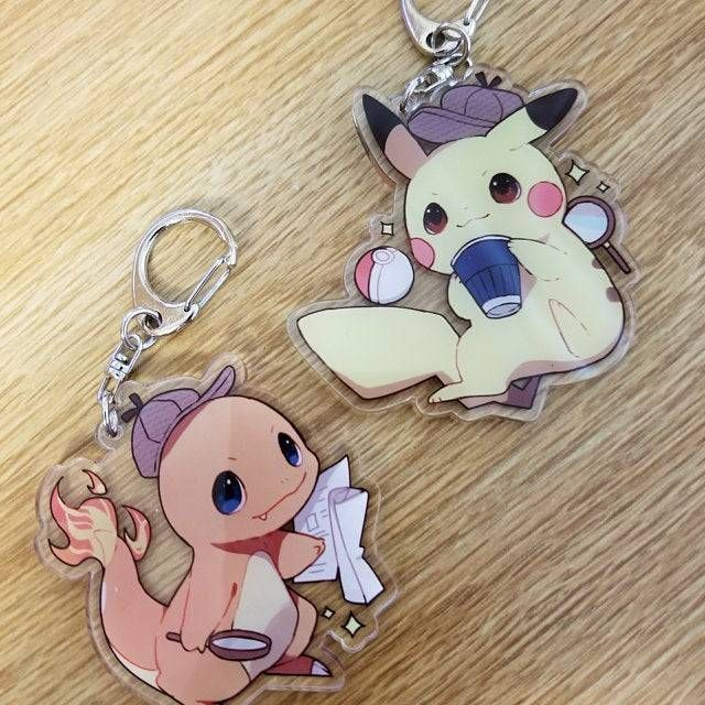 Pokemon Detective Charms made by CrazyNekoStudios -