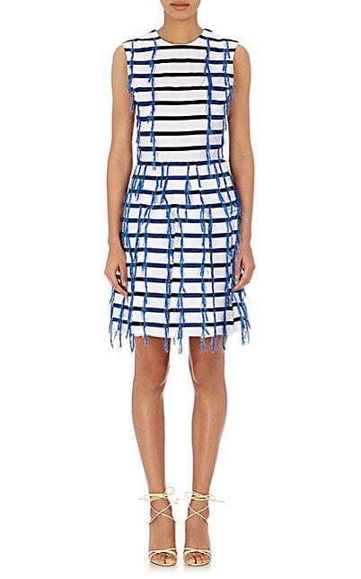 Jourden Fil Coupé A-Line Dress - Short - Barneys.com