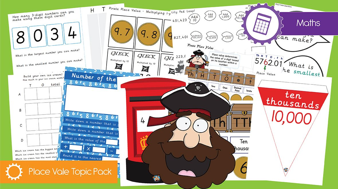 Year 1 & 2 Place Value Topic Pack Teachers pet, Place