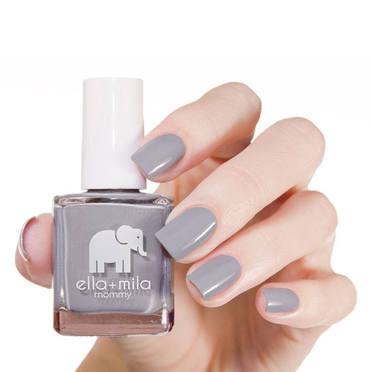 Ella+Mila - Grey Skies | (Misc. Brands) | Pinterest | Pretty nails ...
