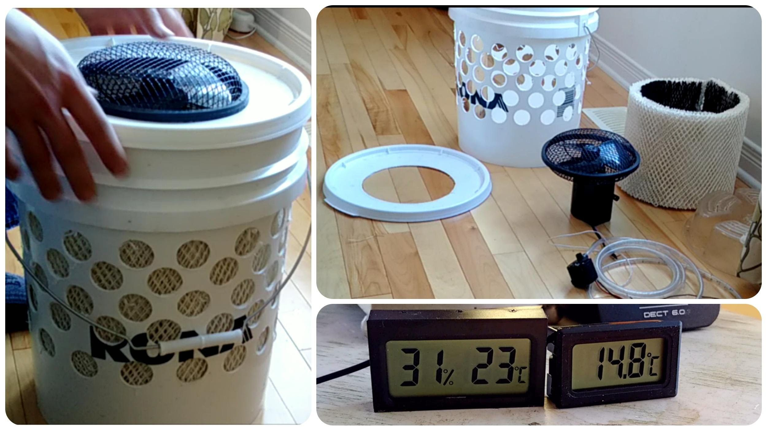 diy swamp cooler aka evaporative cooler | diy home decor | pinterest