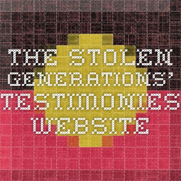 The Stolen Generations Testimonies  Website  Teaching History  The Stolen Generations Testimonies  Website