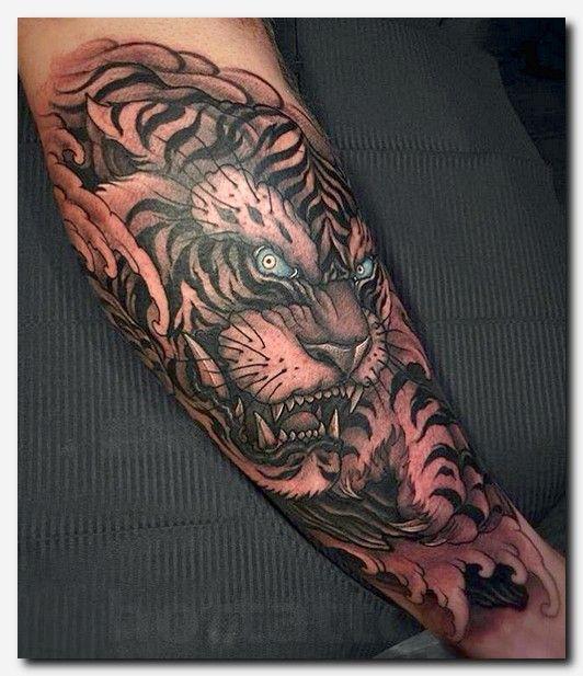 Tigertattoo Tattoo Temporary Tattoo Papier Make Tattoo Ideas Simple Tattoo Designs For Arms Tribal Flo Mens Tiger Tattoo Tiger Forearm Tattoo Tiger Tattoo