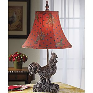 Rooster Lamp Rooster Decor French Country Decorating Country Decor