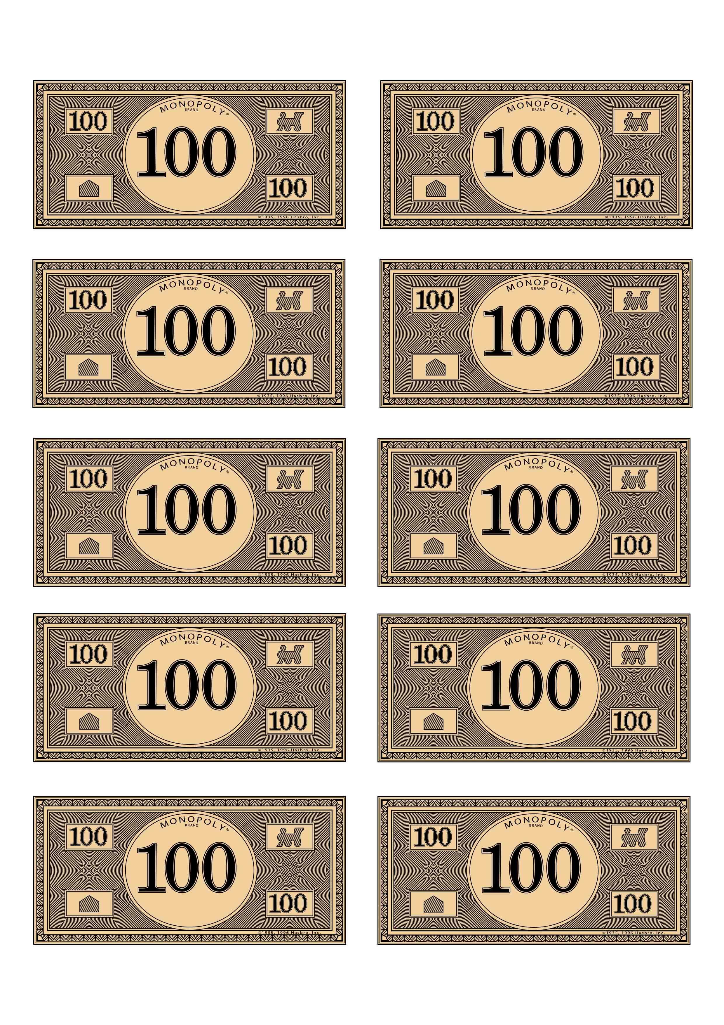 picture regarding Monopoly Money Printable identify monopoly monetary 100 Spending budget$ Monopoly economical, Monetary