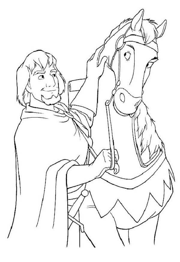 Craft Phoebus And His Horse In The Hunchback Of