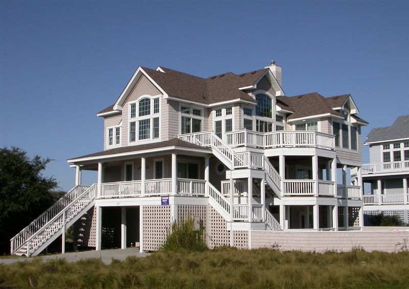 Twiddy Outer Banks Vacation Home - Paradise Found II - Corolla - Semi-Oceanfront - 5 Bedrooms