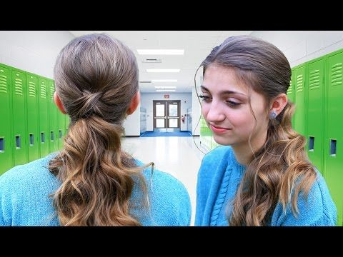 Cute Girls Hairstyles Youtube Cute Girls Hairstyles  Youtube  Kastin  Pinterest  Ponytail