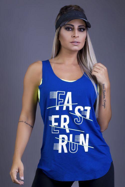 Regata Faster Run - Donna Carioca - Moda fitness com preço de fábrica 5409aa776e5