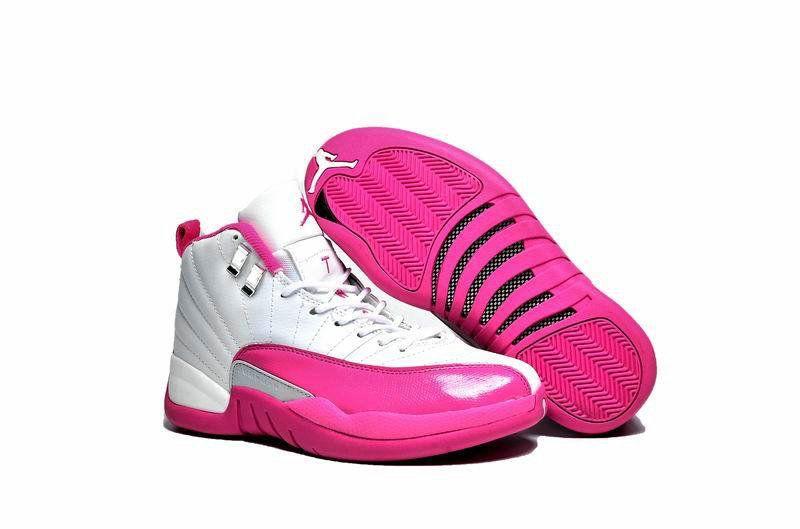 7c3a3ca118f49f Air Jordan 12 Womens Newest Jordan 12 XII GS Valentines Day Vivid Pink