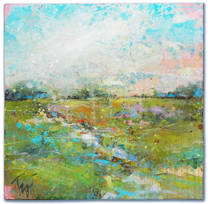 "Cameron's Meadow 30"" X 30"""