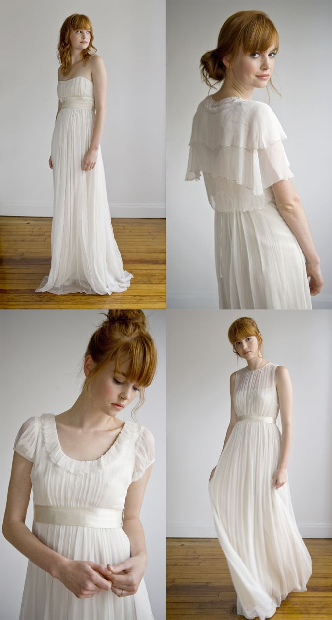 Big pretty wedding dresses  I am starting to fall in love with this not so big dresses  My