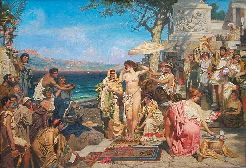 Greek Paintings 19th Century Paintings Painting