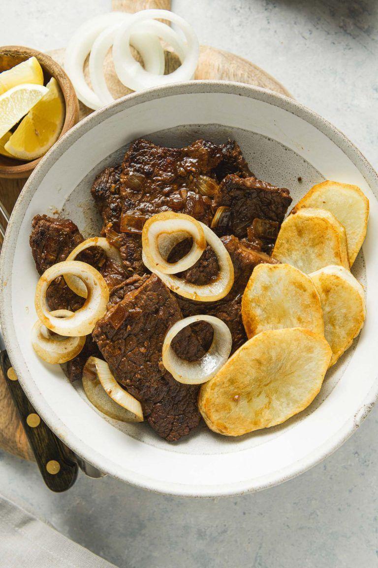 Photo of Bistek Tagalog Recipe (Filipino Beefsteak)