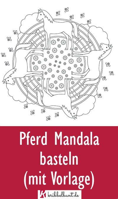pferde mandala » pdf zum ausdrucken in 2020 mit bildern