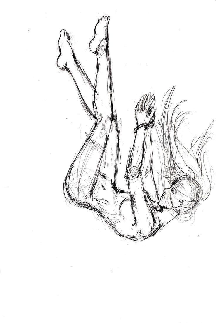 Falling Sketch von ElishaAistrup auf DeviantArt #DeviantArt #ElishaAistrup #fall #sketchart