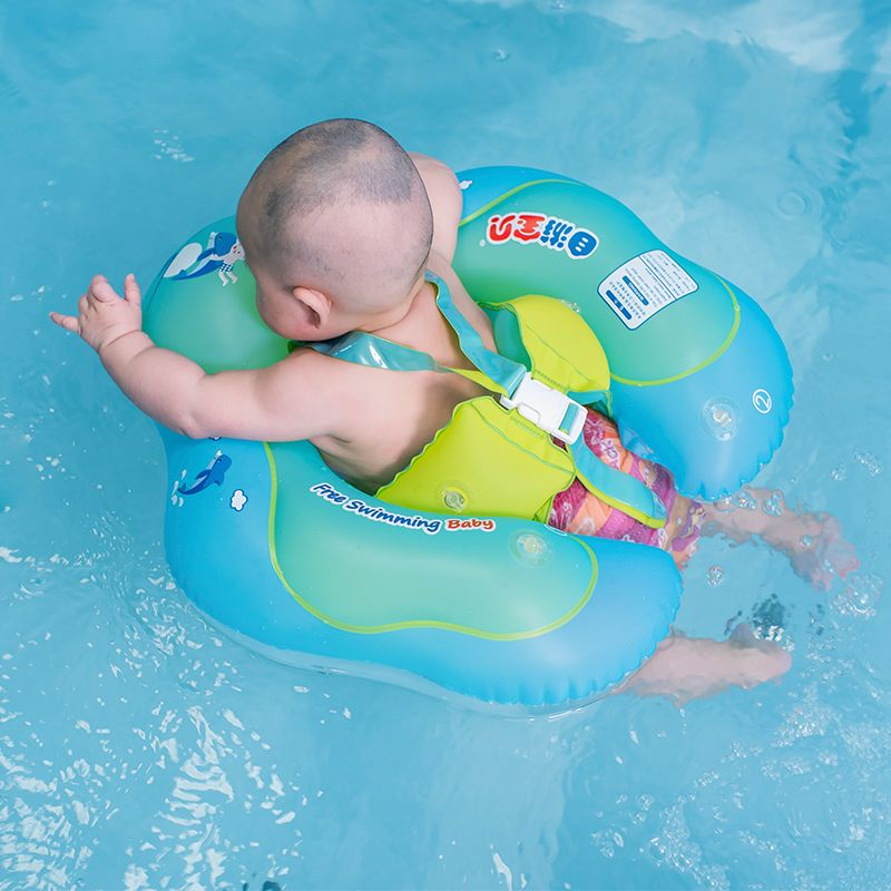 Baby Swimming Ring Inflatable Infant Armpit Floating Kids Swim Pool ...