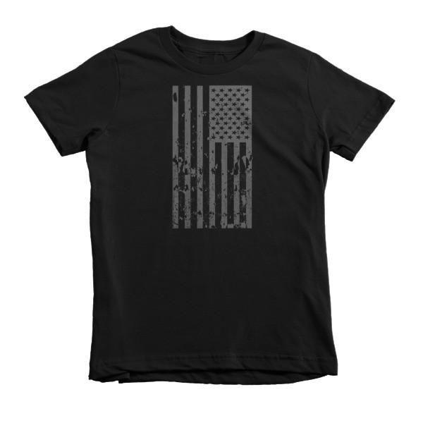 Old Glory Still Waves Patriotic Short Sleeve Kids T-Shirt