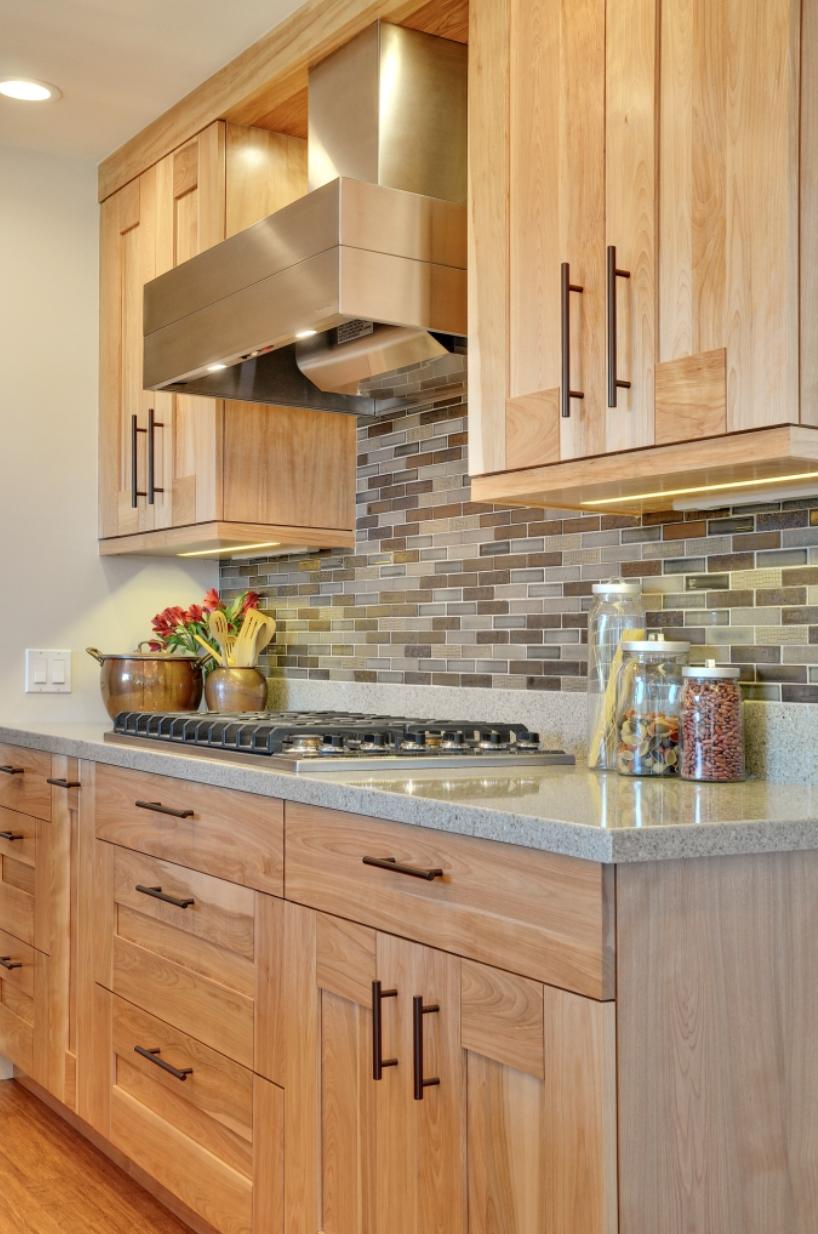 Sagemodern Design A New Rustic Contemporary Home In Lake Tahoe Modern Kitchen Design Light Wood Kitchens Wood Kitchen