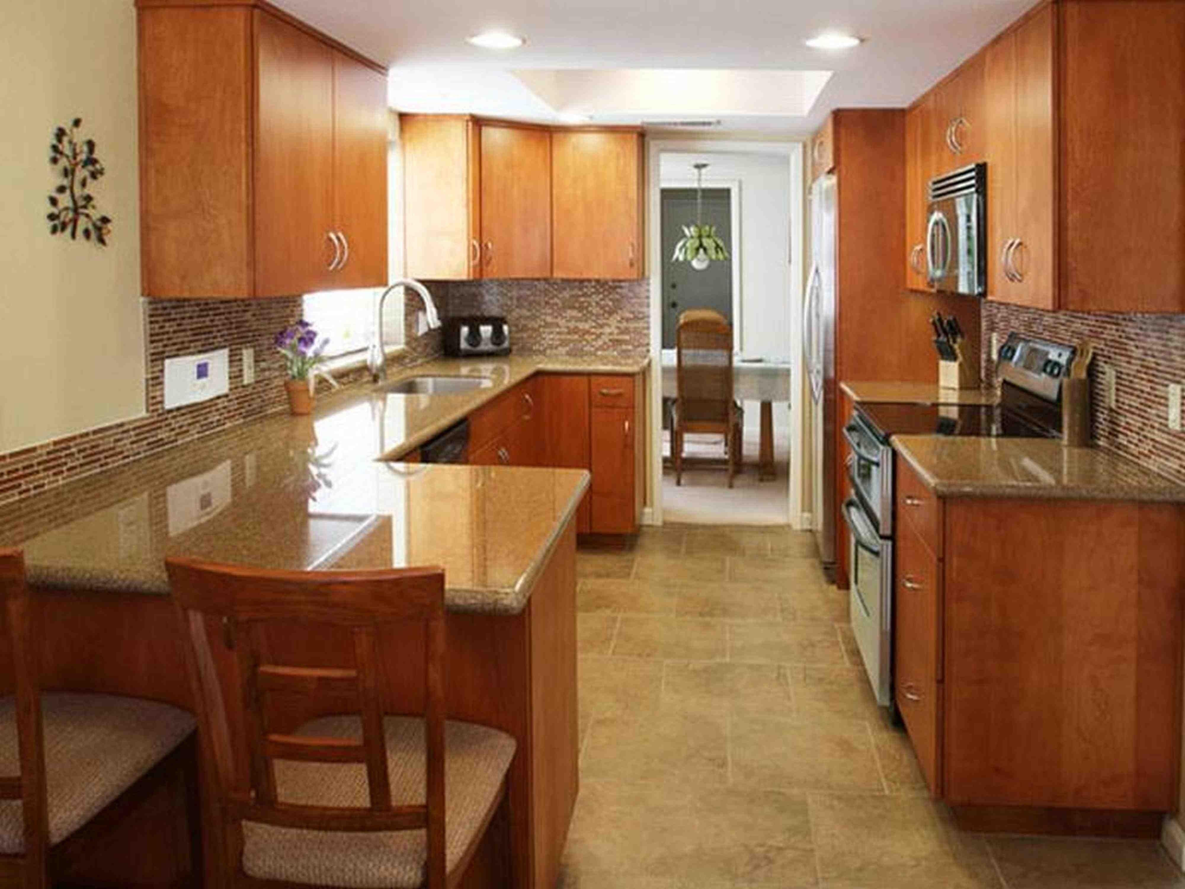 10 X 16 Kitchen Design Galley Kitchen Layout With Peninsula Serveware Microwaves