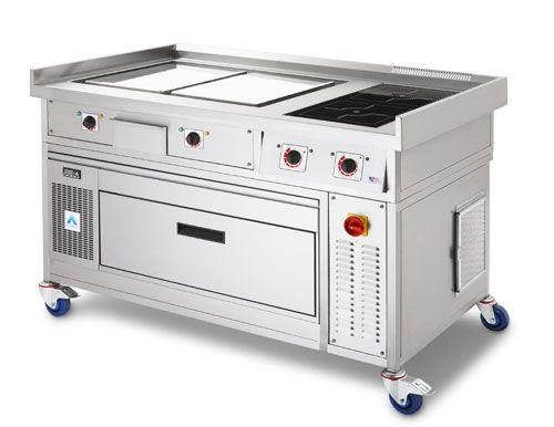 Commercial Induction Cooking Range | Restaurant and ...