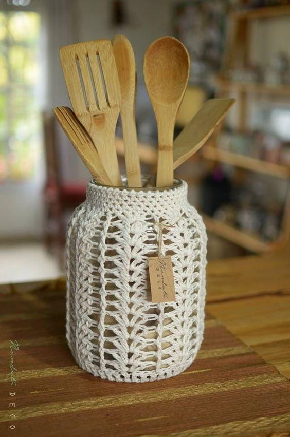 Décorez avec du crochet: les meilleures idées pour donner une touche chaleureuse à votre maison   – Häkeln