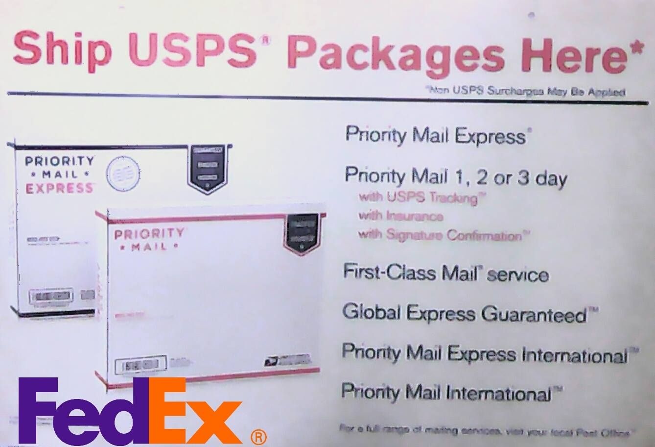 Sos Postal Here To Advertise Of Our Shipping Services You Can