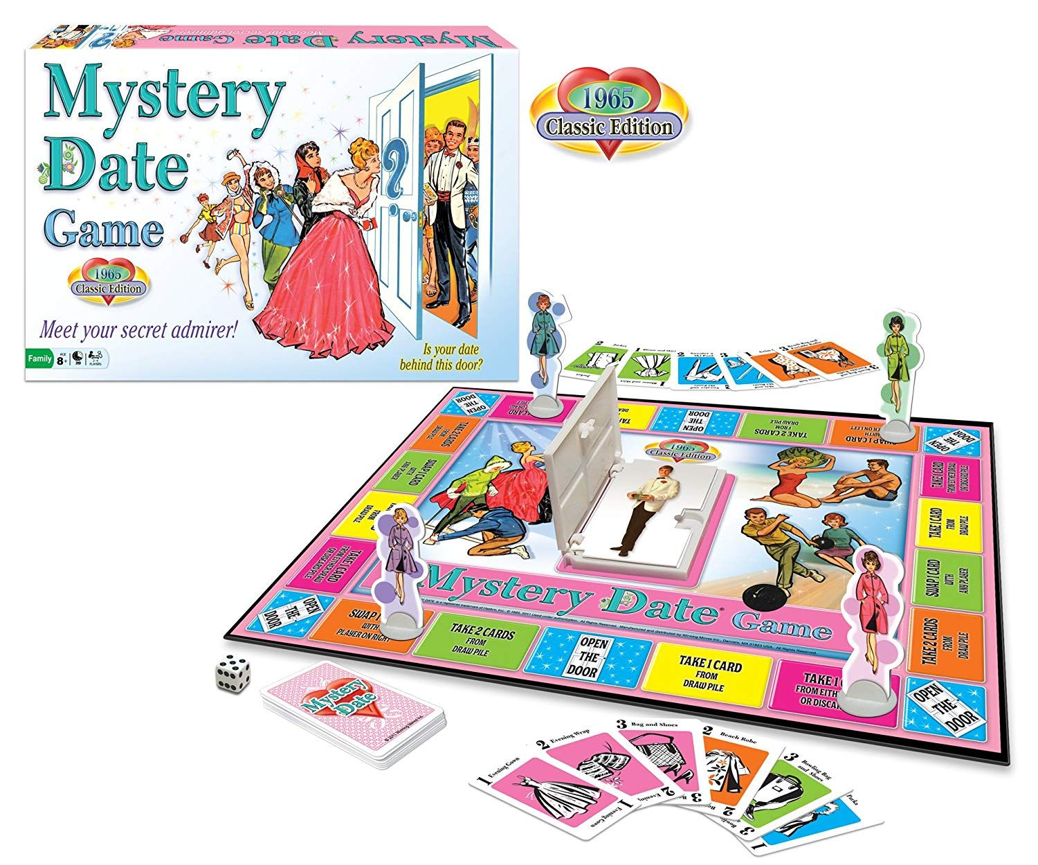 Winning Moves Mystery Date Board Game *** Check this