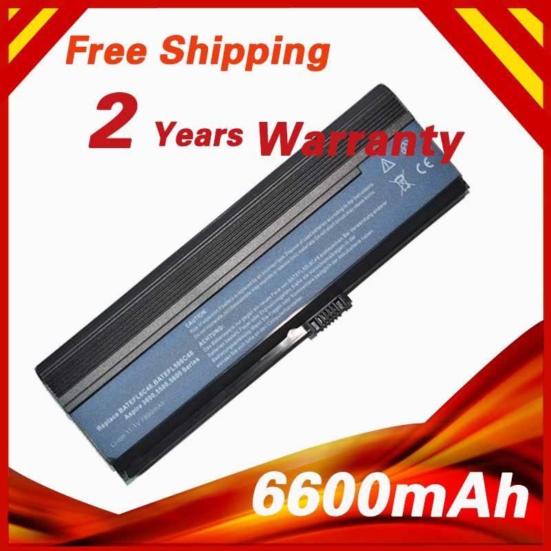6600mah Laptop Battery For Acer 3ur18650y 2 Qc261 Cgr B 6h5 Lc Btp00 001 Lip6220qupc Sy6 Aspire 3054wxci 3682nwxc 5570z Laptop Battery Laptop Cheap Acer Aspire